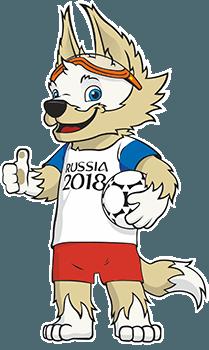 MM-kisojen 2018 maskotti